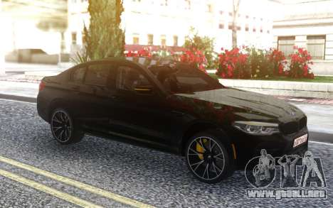 BMW M5 F90 Competition para GTA San Andreas