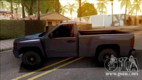 Chevrolet Silverado Single Cab 2010 para GTA San Andreas