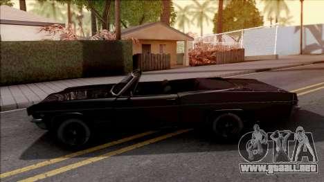 Chevrolet Impala 1966 para GTA San Andreas