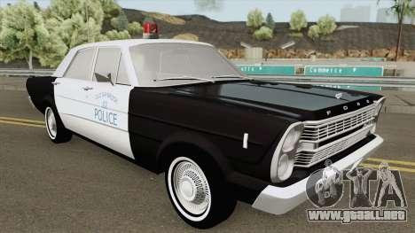 Ford Galaxie 1966 Police para GTA San Andreas