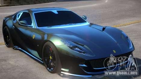 Ferrari Superfast 812 para GTA 4