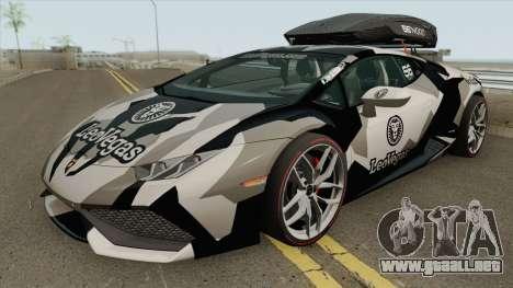 Jon Olsson Lamborghini Huracan LP610-4 2015 para GTA San Andreas