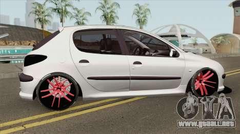 Peugeot 206 Full Sport para GTA San Andreas