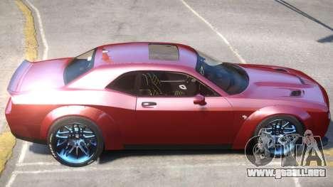Dodge Challenger V2 para GTA 4