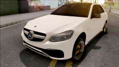 Mercedes-Benz E63 AMG White para GTA San Andreas