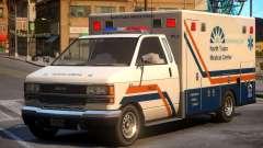 Ambulance North Tudor Medical Center para GTA 4