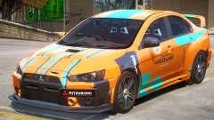 Mitsubishi Lancer Evo X PJ2 para GTA 4