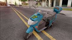 Suzuki Address 110 Custom para GTA San Andreas