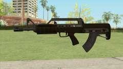 Bullpup Rifle (With Flashlight V1) GTA V para GTA San Andreas