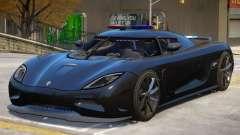 Koenigsegg Agera Police V1 para GTA 4
