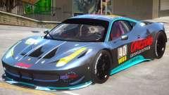 Ferrari 458 GT2 PJ2 para GTA 4
