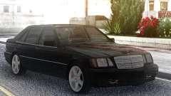 Mercedes-Benz S600 W140 Black Series para GTA San Andreas