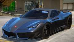 Ferrari 458 Siracusa para GTA 4