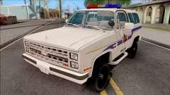 Chevrolet Blazer 1985 Hometown Police