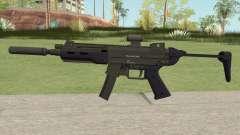 Hawk And Little SMG (Two Upgrades V4) GTA V para GTA San Andreas