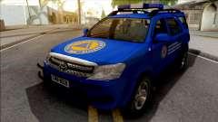Toyota Fortuner Civilna Zastita para GTA San Andreas