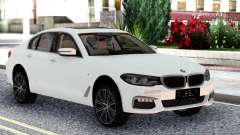BMW 540i G30 White Sedan para GTA San Andreas