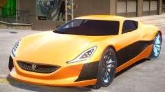 Rimac Concept V2 para GTA 4