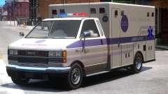 Ambulance Bohan Medical Center para GTA 4