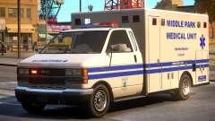 Ambulance Middle Park Medical Unit para GTA 4