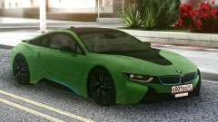 BMW I8 2018 Green para GTA San Andreas