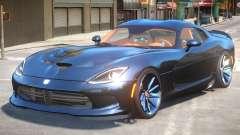 Dodge Viper SRT R3 para GTA 4
