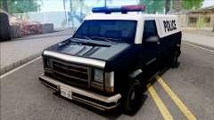 Declasse Burrito Police Van para GTA San Andreas