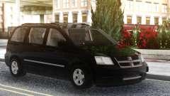 Dodge Grand Caravan 2010 Black para GTA San Andreas