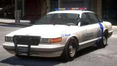 Police Vapid Stanier V2 para GTA 4