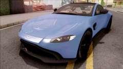 Aston Martin Vantage 2019 para GTA San Andreas