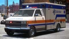 Ambulance Cerveza Heights Medical Center para GTA 4