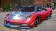 2016 Pagani Huayra BC para GTA 4