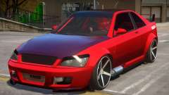 Sultan RS Lights para GTA 4