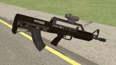 Bullpup Rifle (With Scope V1) GTA V para GTA San Andreas