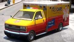 Ambulance City Hall Hospital FastCare para GTA 4
