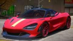2018 McLaren 720S para GTA 4