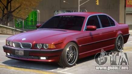 1994 BMW 750i para GTA 4