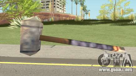 Arthas Hammer (Warcraft III RoC) para GTA San Andreas