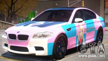 BMW M5 F10 PJ2 para GTA 4