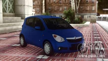 Opel Agila Compact para GTA San Andreas