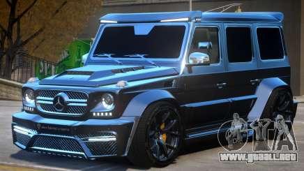 Mercedes Benz G7 Onyx para GTA 4