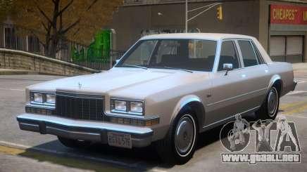 1983 Dodge Diplomat para GTA 4