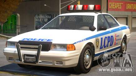 Vapid Stanier Police V2 para GTA 4
