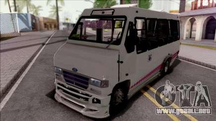 Ford Prisma IV Microbus White para GTA San Andreas