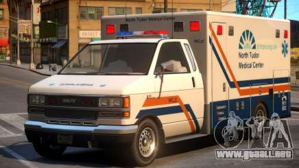 Ambulance North Tudor Medical Center para GTA 4