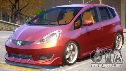 Honda Fit V2 para GTA 4