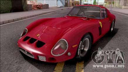Ferrari 250 GTO 1962 Red para GTA San Andreas