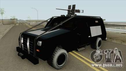 HVY RAID FBI Truck para GTA San Andreas