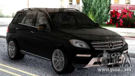 Mercedes-Benz ML Class 2013 Sport Black para GTA San Andreas