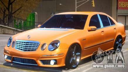 Mercedes Benz E63 W211 para GTA 4